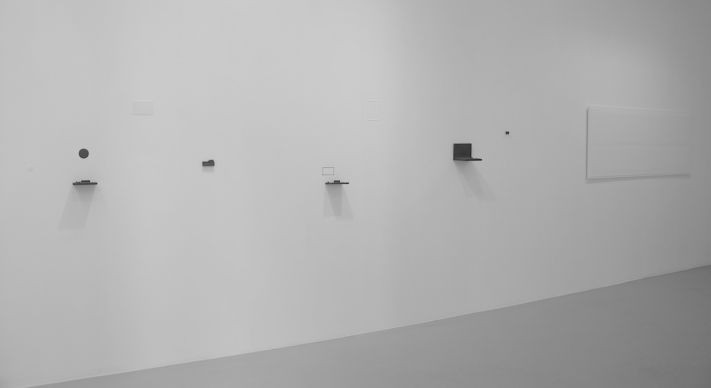 Wallconstruction # I - 2015. 3x4 meter. Untitled # I -2015. Wallobject. 70x170x1,5 cm