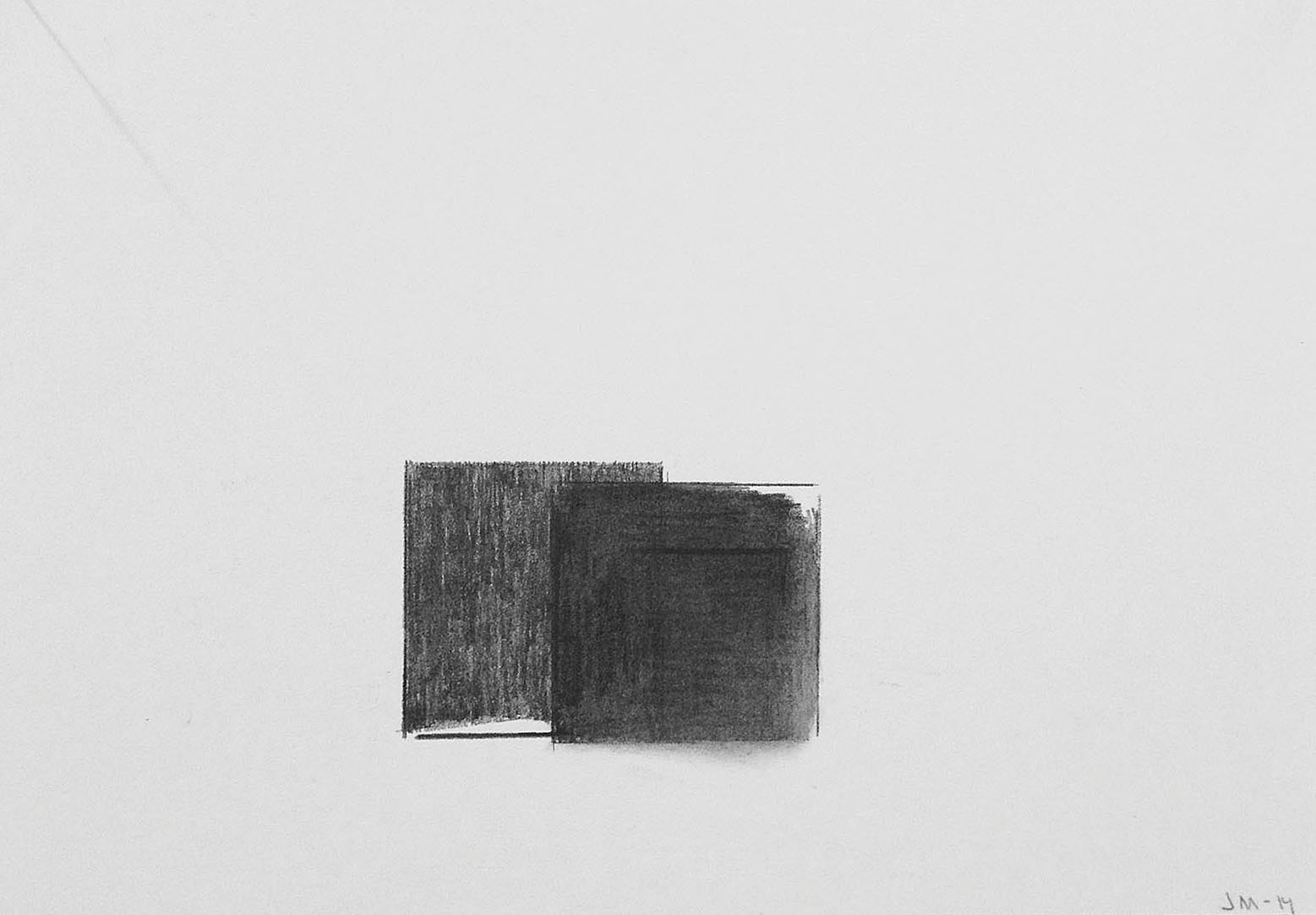 Drawing # III- 2015. Pencil on paper. 30x30 cm